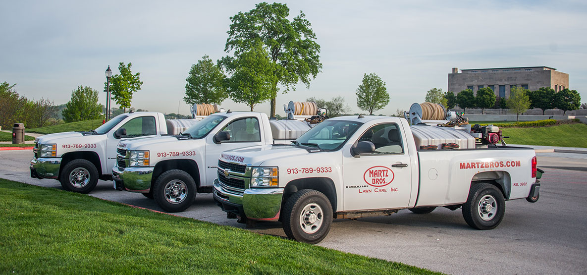 Martz-Bros-Lawn-and-Tree-Care-Trucks-at-Liberty-Memorial